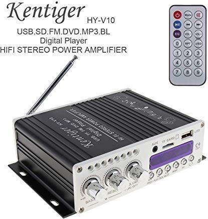 EPUATHChina® HI-FI Bluetooth Auto-Audio-Verstärker FM Radio Player unterstützt SD/USB/DVD/MP3-Eingang -