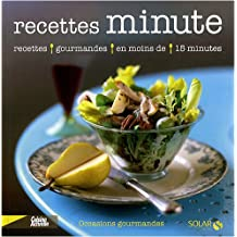 Recettes minute