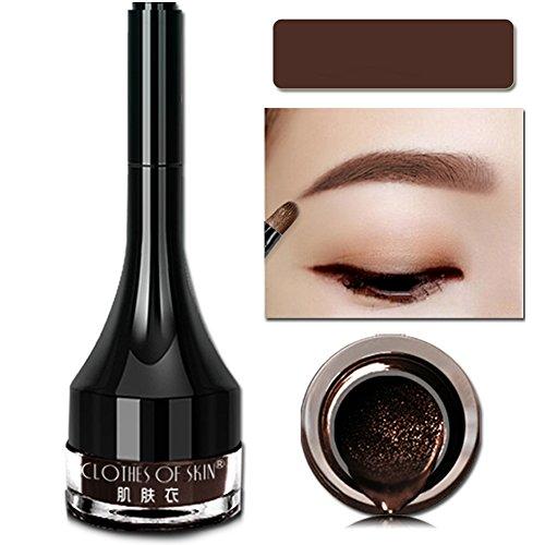 ROMANTIC BEAR Natural-Looking Cushion Waterproof Eyebrow Gel Augenbrauen Farben(Dark Coffee)