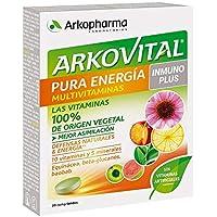 Arkopharma Arkovital Pura Energía Multivitaminas Inmuno Plus Comprimidos, ...