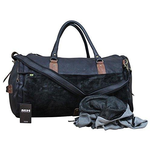 Desiderius Herren Weekender Tasche Gaius black DESS170429 Black