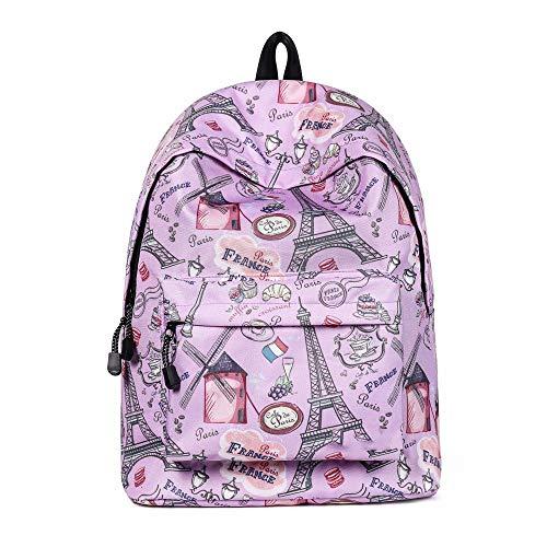 Personalità da donna casual zaino grande capacità impermeabile wild school sacchetto di scuola zaino outdoor moda,pink-onesize