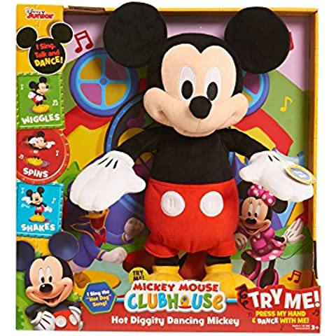 Just Play Hot Diggity Dancing Mickey Plush by Just Play - Diggity Dog Toy