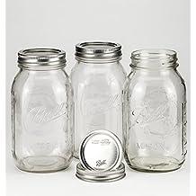 Ball Mason Jar 32oz Regular Mouth 3er/Set