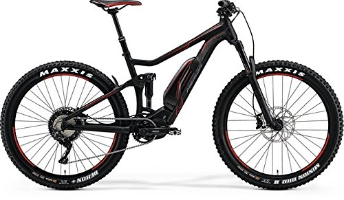 Herren E-Mountainbike Fully 27.5+ Zoll schwarz - Merida E-Bike eOne-Twenty 800 - Rock Shox Gabel, Shimano XT Schaltwerk, Akkukapazität 500Wh