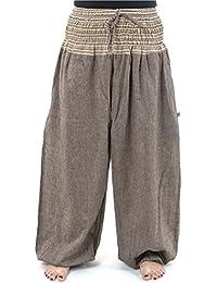 FANTAZIA Pantalon Sarouel Grande Taille Mixte nat - 22f8ba9459a