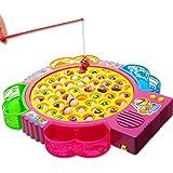42 Pezzi di Pesce Giocattolo Elettrico di Pesca Musicale Gioco per i Bambini Precoce Educazione, Consegna Casuale di Colore