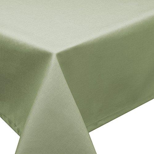 Mantel antimanchas techo Lotus Efecto Jardín Aspecto de Lino lavable en 27tamaños...