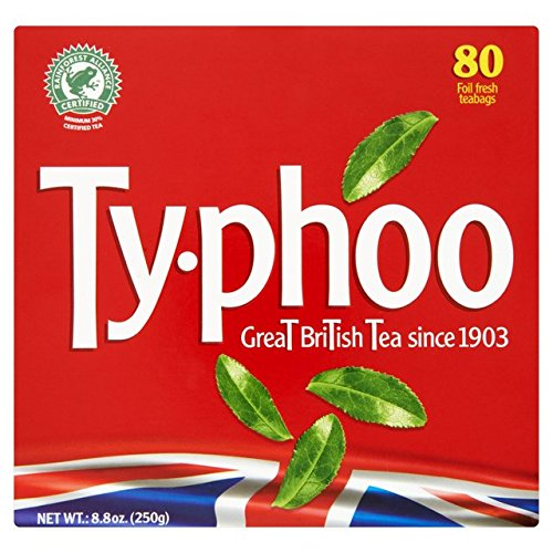 Typhoo Tea Bags 80 per pack