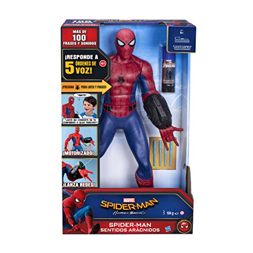 Marvel Spider-man Sentidos arácnidos Juguete (Hasbro...