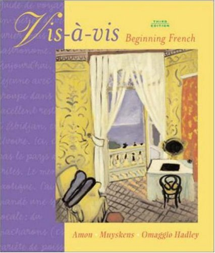 Vis-a-vis: Beginning French Student Edition Prepack