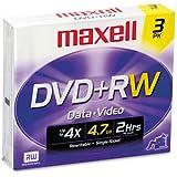 MAX634043 - Maxell DVDRW Discs