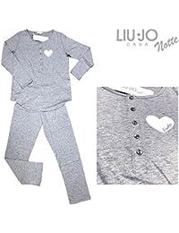 61b8452e513e9 Amazon.it  Liu Jo Jeans - Grigio   Pigiami e camicie da notte ...