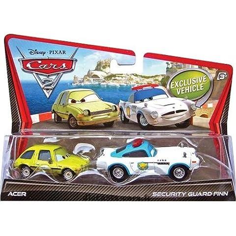 Cars V2840 Cars 2 - Coche en miniatura de Finn McMissile & Acer