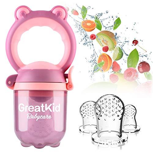 Alimentador alimentos bebés Alimentador frutas Chupete