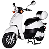 Rolektro E-Scooter Retro Light 40 V.2 EU-Zulassung 1200W Motor 60KM
