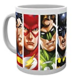 GB Eye LTD, DC Comics, Justice League Visages, Tasse