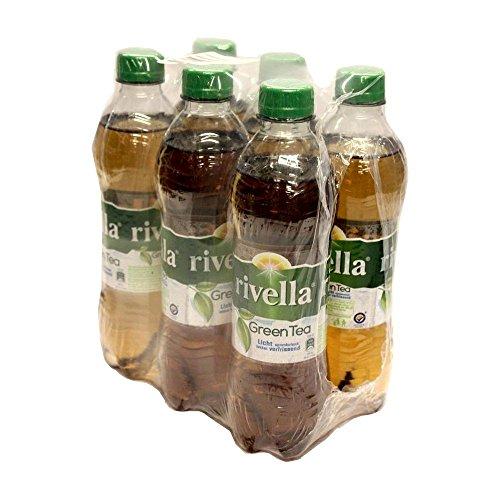 Grüner-tee-flasche (Rivella Green Tea 6 x 0,5l PET-Flasche (grüner Tee))