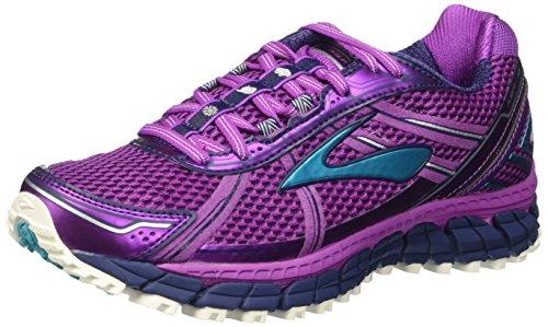 Brooks Damen Adrenaline ASR 12 Laufschuhe, Violett (Purplecactusflower/Bluebird/Blueprint), 39 EU (Laufschuhe Brooks Asr)