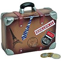 Preisvergleich für wunderschöne Urlaubskasse,Reisekasse Sparbüchse,Spardose Reisekoffer,Koffer mit Stickern