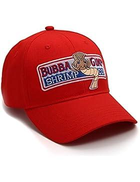 nofonda unisex Forrest Gump Cap, gorra de béisbol bordada con Bubba Gump Shrimp Co. logotipo, sombrero del snapback...