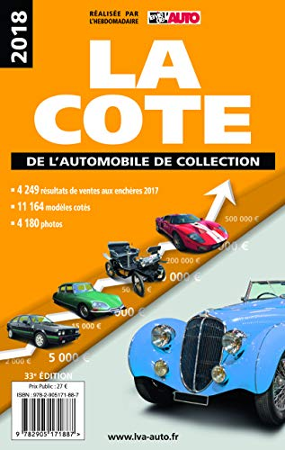La cote de l'automobile de collection 2019 par Editions LVA Editions LVA