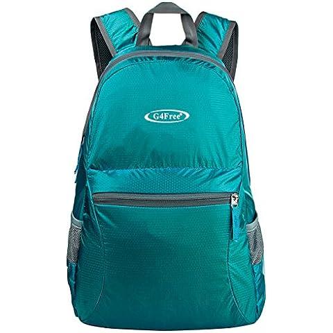 G4Free 25L Ultra leggero strappo e resistente di acqua pieghevole pratico del Backpack