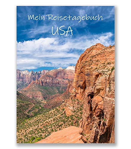 Reisetagebuch USA zum Selberschreiben | interaktiv mit spannenden Aufgaben, Urlaubsvorbereitung, den Highlights deiner Reise uvm. | gestalte deinen pers. Reiseführer - Geschenkidee | Enjoytheworld