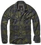 Brandit Checkshirt Hemd Grün/Blau 5XL