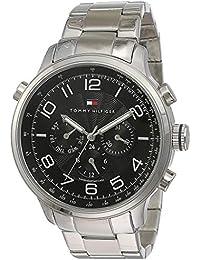 Tommy Hilfiger Analog Black Dial Men's Watch - NATH1790965