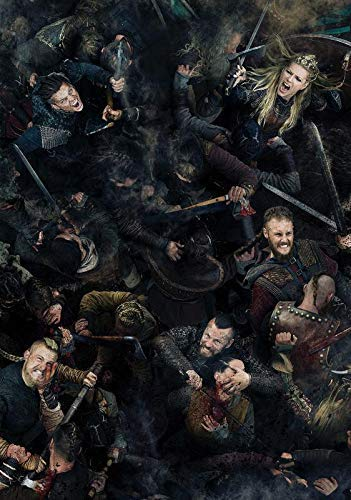 Desconocido Vikingos Serie de TV Póster Foto Series Art Lagertha Floki Gustaf Skarsg㥠Rd 06 (A5-a4-a3) - A3