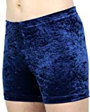 GymStern Hotpants Turnhose Shorty aus bi-elastisch Crash Samt | ML110892