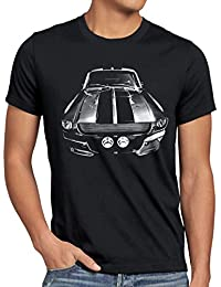 style3 Eleanor T-Shirt Homme mustang muscle car