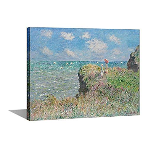 YUSDK Paint by Numbers 16 x 20 inch Canvas Kit DIY Oil Painting for Kids/Students/Adults Beginner Monet Tea Tree Flowers@PAINT0053-B_Stretched (Monet Buch Kids)