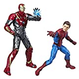 Spider-Man Marvel Legends, Homecoming, Confezione da 2 Action Figure