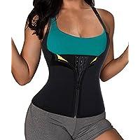 Hot Sweat Neopren Sauna Shirt Fitness Korsett Weste Abnehmen Sport Body Shaper für Damen