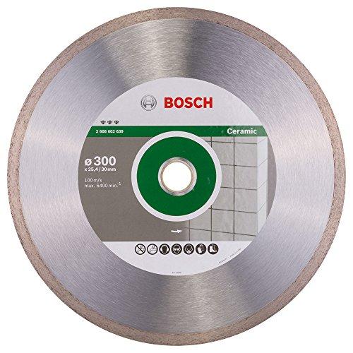 BOSCH 2 608 602 639  - DISCO DE CORTE DE DIAMANTE BEST FOR CERAMIC - 300 X 30/25 40 X 2 8 X 10 MM (PACK DE 1)