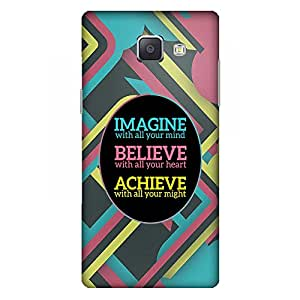 Bhishoom Designer Printed Back Case Cover for Samsung Galaxy A5 (6) 2016 :: Samsung Galaxy A5 2016 Duos :: Samsung Galaxy A5 2016 A510F A510M A510Fd A5100 A510Y :: Samsung Galaxy A5 A510 2016 Edition (Quote :: Imagine Believe Achieve :: Motivational :: Inspirational :: Saying)