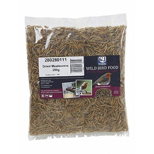 CJ Wildlife Mealworms Séchées 250g
