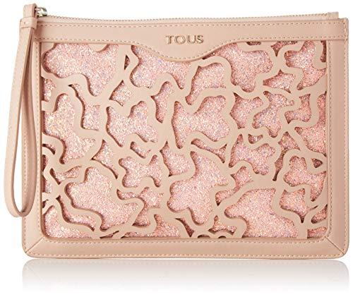 Tous Clutch K Shock Rosa, Bolso de Mano para Mujer, 26x19.5x1.5 cm...