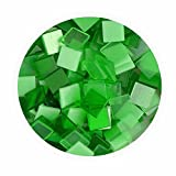Creleo 790316 Mosaiksteine, 45 g, 10 x 10 mm, 190 Stück, grün