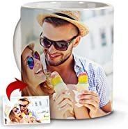 LolaPix Tazas Café Personalizadas con Foto. Regalos Personalizados con Foto. Taza Personalizada de Cerámica. T