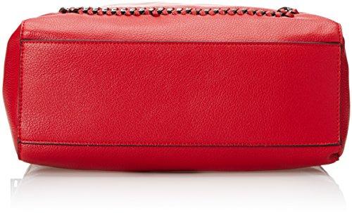 Gaudì Tote Linea Agata, Borsa a Mano Donna, 32 x 34 x 14 cm (W x H x L) Rosso (Red)
