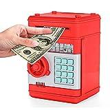 Elektronische Piggy Banks Mini-ATM-Save-Geld-Münzen-Bank-Kasten mit elektronischem Schloss & Secret Code Zum Entsperren mit Passwort Spielzeug für Kinder Kinder