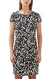 ESPRIT Collection Damen Kleid 027EO1E031, Schwarz (Black 2 002), 38 (Herstellergröße: M)
