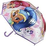 Shimmer et Shine 2400000350Bubble Parapluie, Violet, 45cm