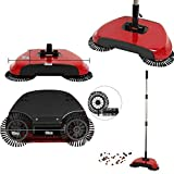 #4: Gooseberry 360 Degree Rotating Brush Spin Hand Push Broom Sweeper Dust Floor Surface Cleaning Mop for Home Office