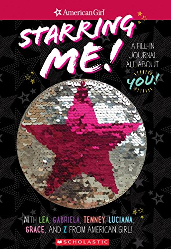 Starring Me Magic Sequin Journal (American Girl) por Howie Dewin