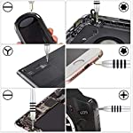 118-in-1-Mini-torx-Set-cacciavite-Elettricista-Professionali-magnetici-Stella-giraviti-Kit-cacciaviti-precisione-per-iPhoneSmartphoneiPadTablet-Laptop-Xbox-Orologi-Occhiali
