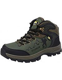 Ben Sports Verde Zapatillas de senderismo Botas Correr en montaña para Hombre,37-46